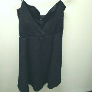 NWOT Deb Black Strapless Dress SZ XXL